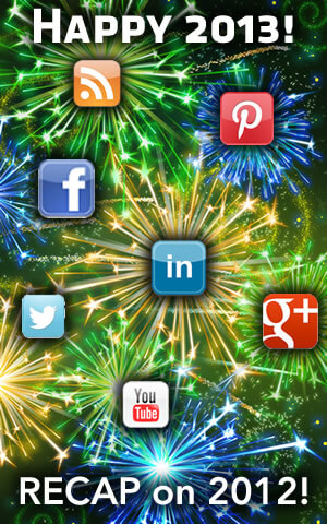 A Social Media Marketing recap on 2012