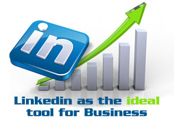 Linkedin as the ideal tool for business via social media